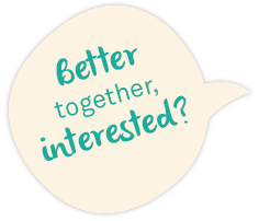 Better together, interested?